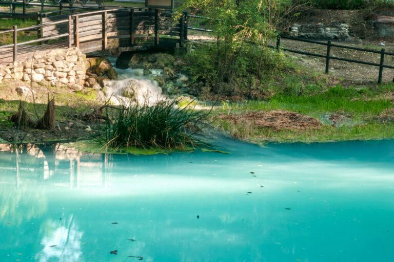 Alle sorgenti sulfuree del lavino: percorso laghetti