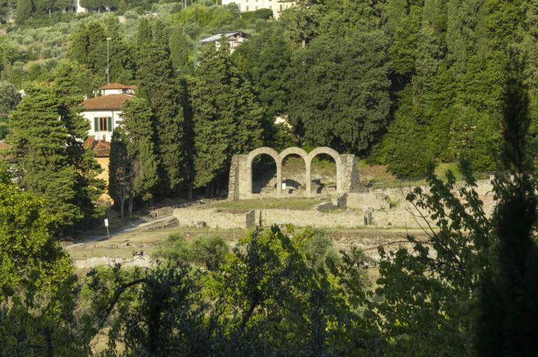 Fiesole area archeologica