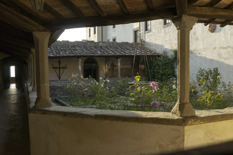 Fiesole chiostro convento s.francesco