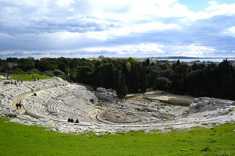 A spasso per Siracusa: teatro Greco