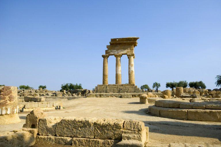 Agrigento, la valle e la Scala: tempio