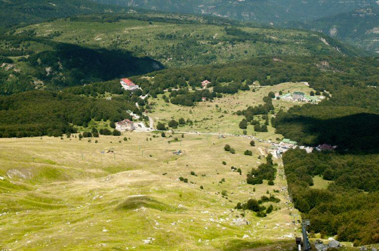 Rifugio Franchetti: prati Tivo
