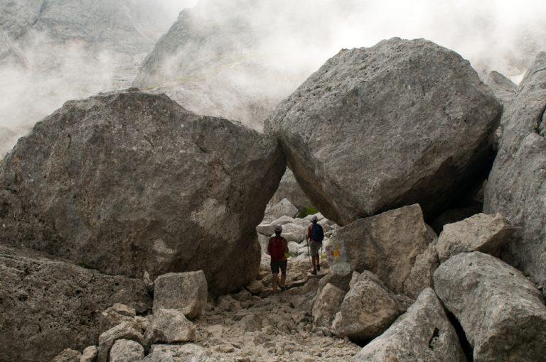 Rifugio Franchetti: vallone