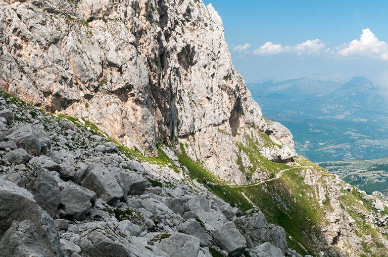 Rifugio Franchetti: sentiero