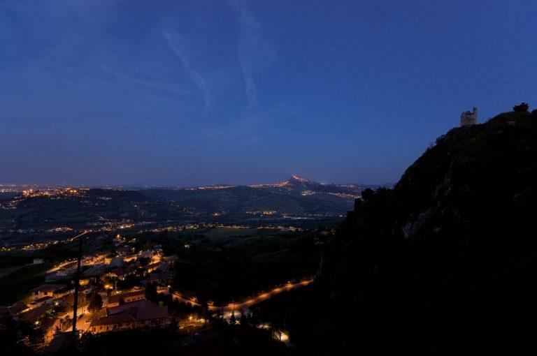 Val Marecchia: notturna