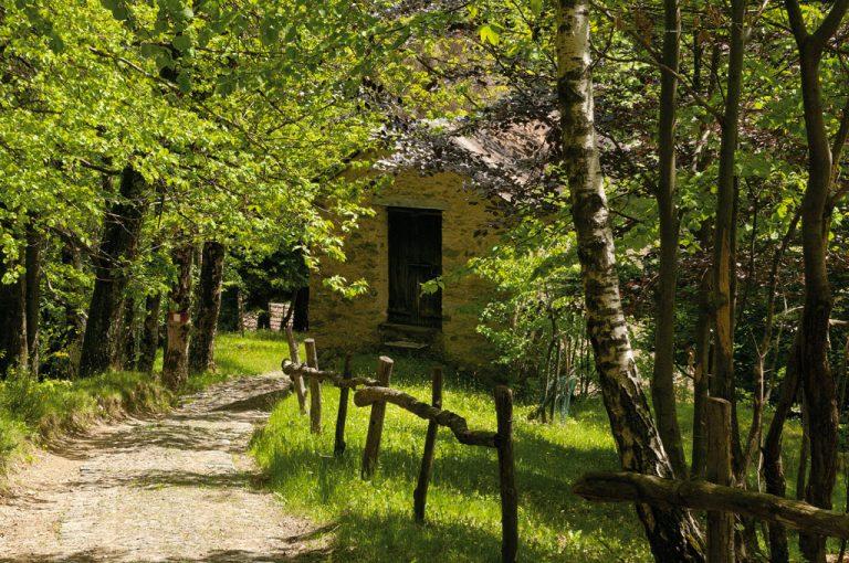 Alta Via Monti Lariani: baita Cagnao