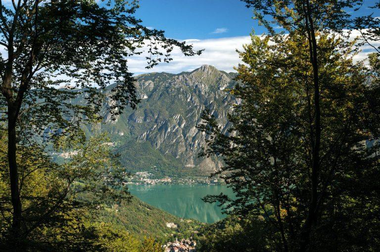 Alta Via Monti Lariani: lago Lugano