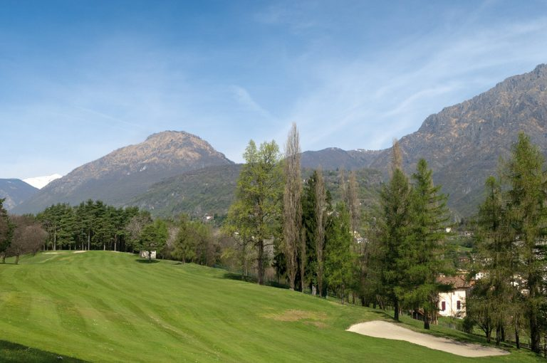 Alta Via Monti Lariani: golf Menaggio