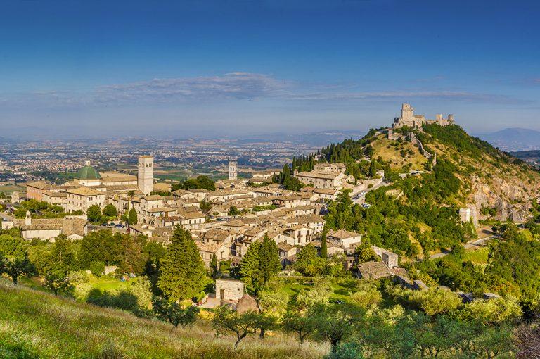 Assisi: panorama