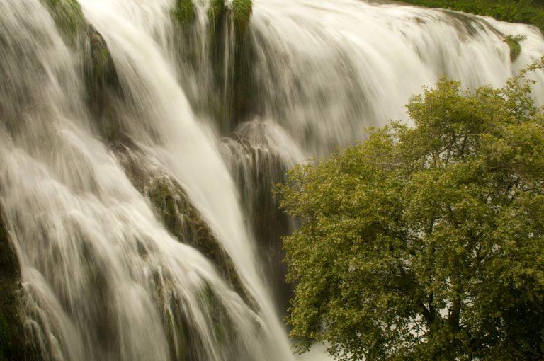 Cascata delle Marmore: terzo salto