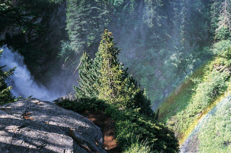 Cascate Rutor: prima cascata