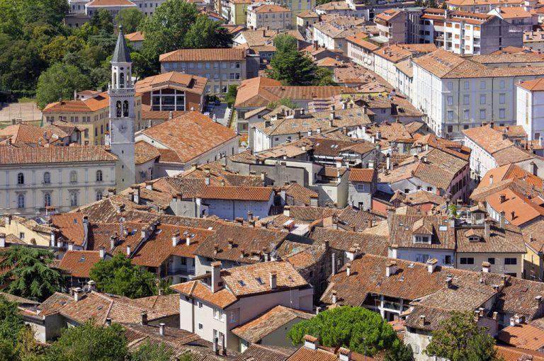 Gorizia: panoramica città