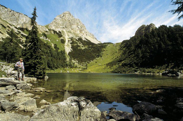 Da Forni Avoltri al lago Bordaglia: paesaggio