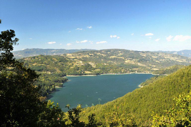 Ponte Venturina - Lago Brasimone: Suviana