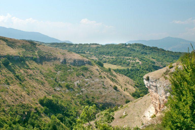 Eremo San Bartolomeo in Legio: vallone