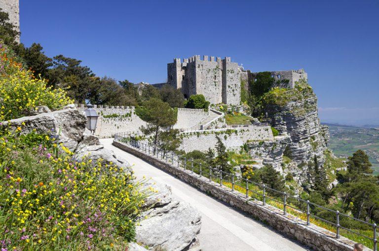 Erice: castello normanno