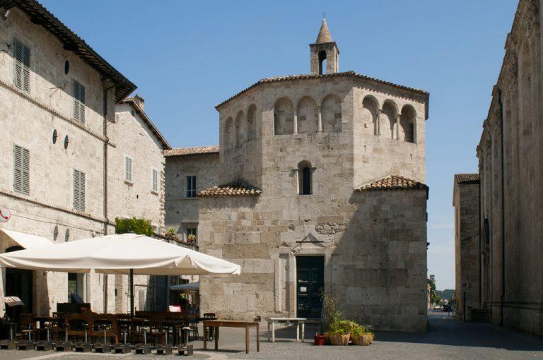 Ascoli Piceno: battistero