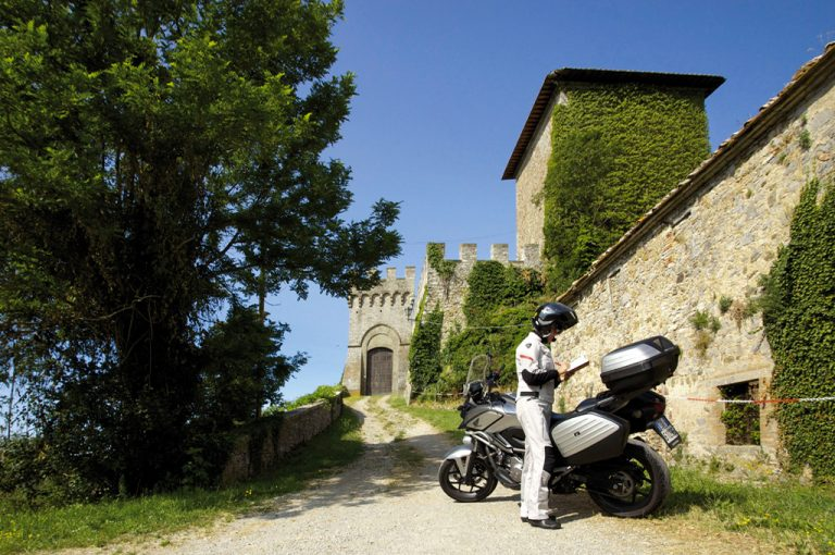 Giro in moto monte Amiata: Triana