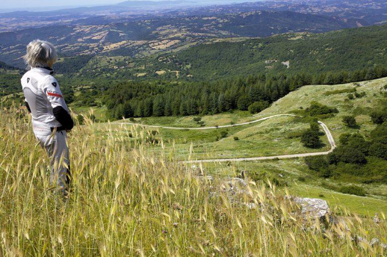 Giro in moto monte Amiata