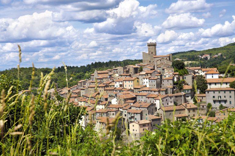Giro in moto monte Amiata: Arcidosso