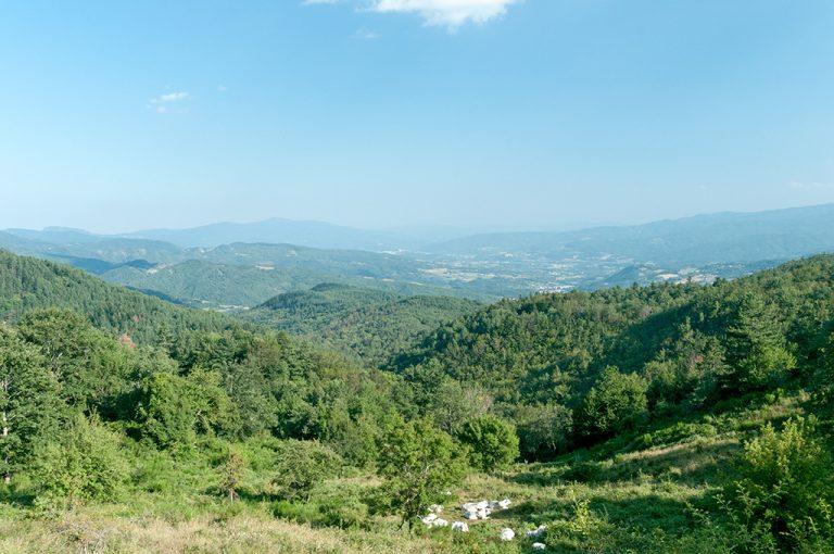Lago degli Idoli: panorama