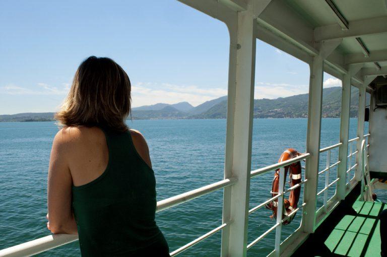 Battello lago di Garda: in navigazione