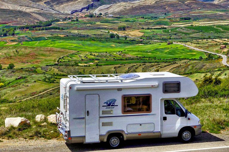 In camper sulle colline del Chianti