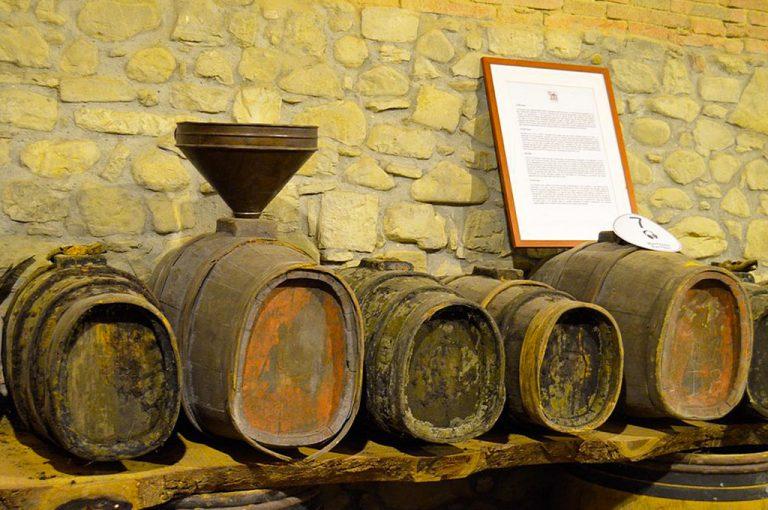 In camper sulle colline del Chianti: museo Greve