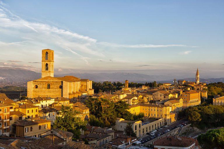Camper Umbria e Marche: Perugia