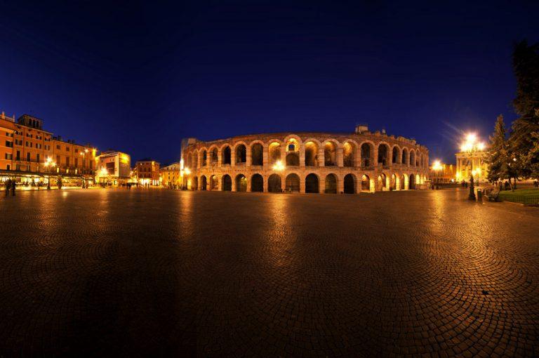 Verona, Mantova, Ferrara: in camper tra gusto e arte: arena di Verona