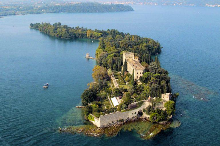 Isola del Garda: veduta aerea