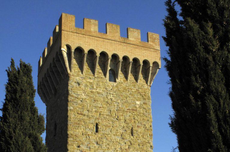 Torgiano: torre