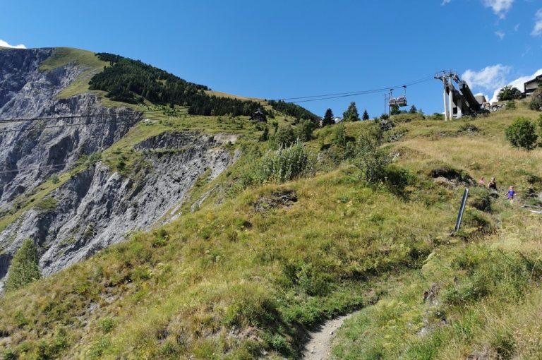 Les 2 Alpes: sentiero per Venosc