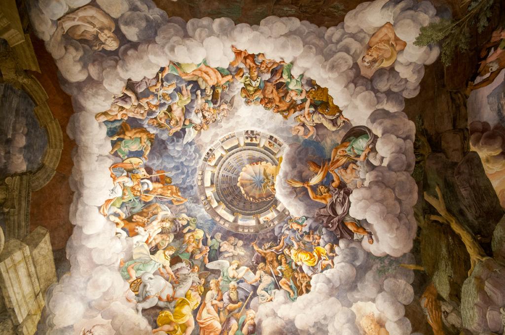 Mantova: dipinto sala dei giganti
