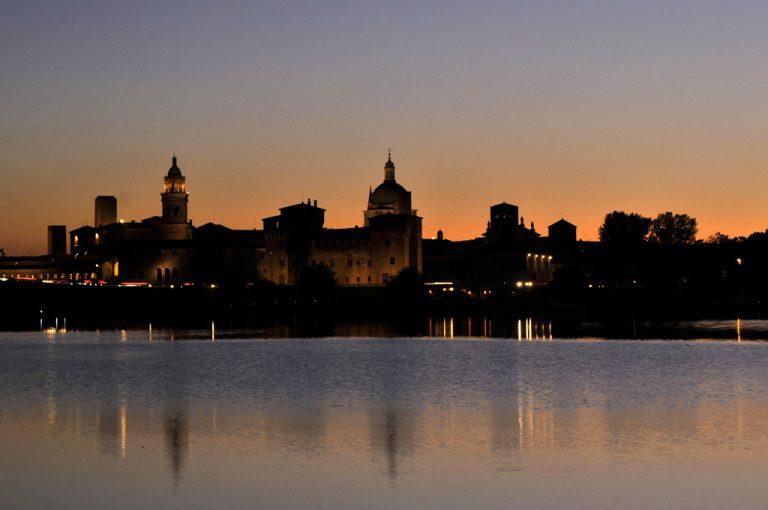 Mantova: tramonto