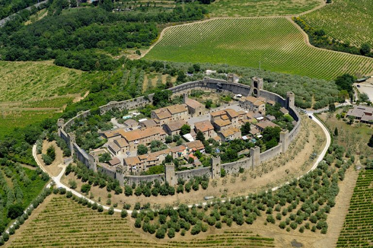 Monteriggioni: panorama