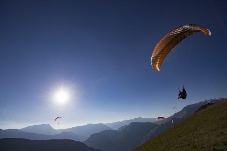 Les 2 Alpes: Parapendio