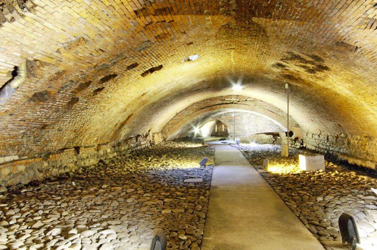 Pistoia sotterranea: cunicoli