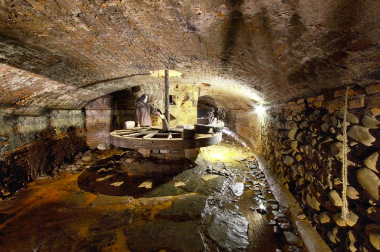 Pistoia sotterranea: frantoio