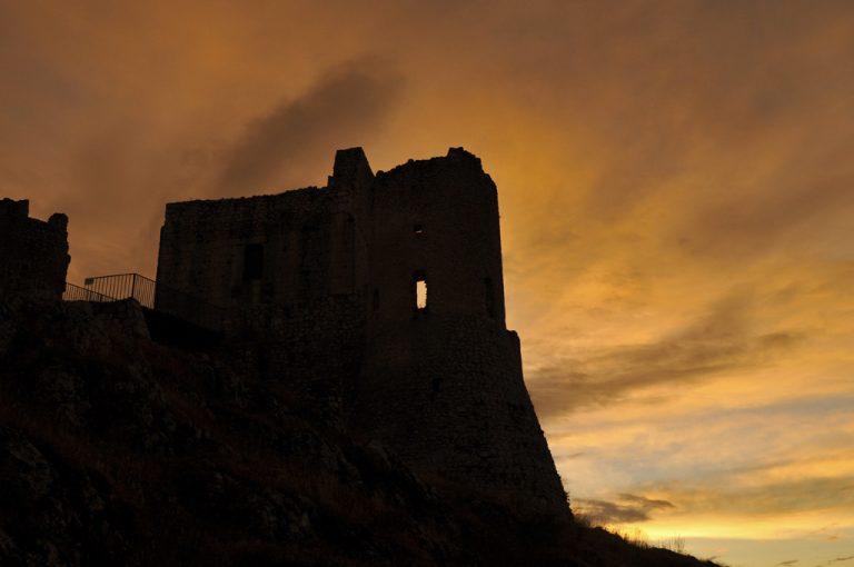 Rocca Calascio: sagoma castello