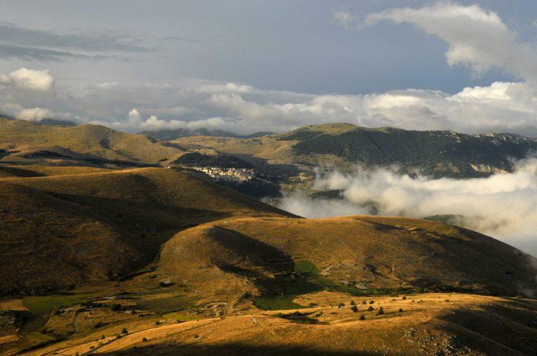Rocca Calascio: monti Laga