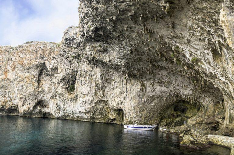 Il Salento in camper: grotta Zinzulusa