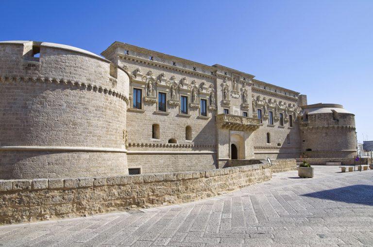 Il Salento in camper: castello Otranto