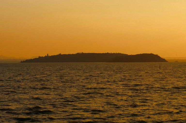 Lago Trasimeno: tramonto