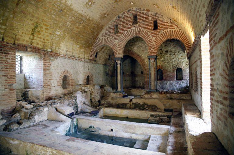 Terme Arabe di Cefalà Diana: vasche termali