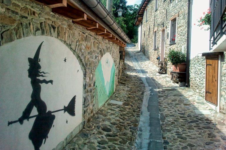 Triora il borgo bello delle streghe: vicoli