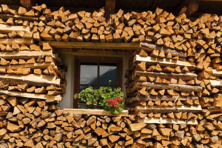 Val Pusteria: legnaia