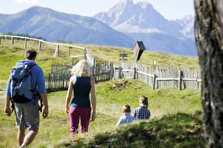 Val Pusteria: famiglia