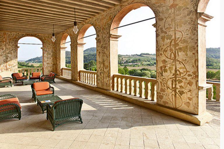 Villa dei Vescovi: portici