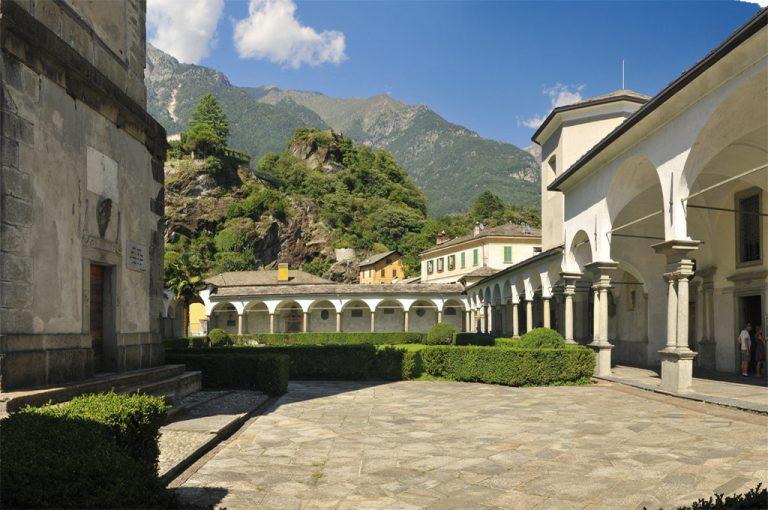 Weekend di gusto in Valchiavenna: chiostro San Lorenzo
